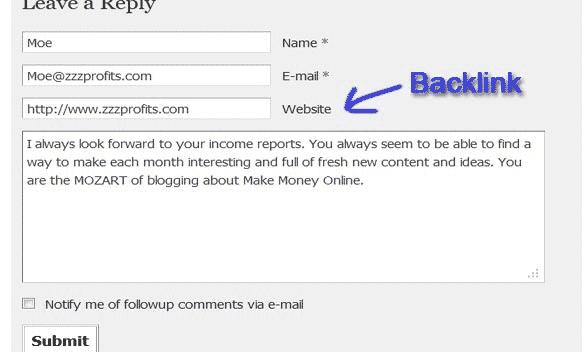 xây dựng backlink, tạo backlink, backlink, backlink seo, website, kinh doanh online, blog, bình luận blog, comments,
