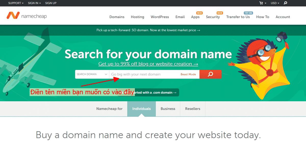 namecheap, mua tên miền, domain, domain là gì, website domain là gì, đăng ký tên miền, đăng ký tên miền tại namecheap, hướng dẫn cách mua tên miền,
